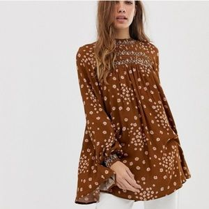 Free People Revolve Flowers in Her Hair Tunic
